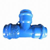 Buy cheap All Socket Tee, Made of Ductile Iron from wholesalers