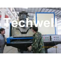 Electric Control Super K Span Roll Forming Machine For 914-610 Arched Roof Panel Manufactures