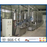 Cheap Yogurt Processing Plant Yogurt Processing Equipment 5 - 200 TPD Full Automatic Industrial Type for sale