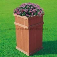 Flower Pot, Wood Plastic Composite, High Density and Degree of UV Stability Manufactures