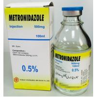 Metronidazole Injection 500mg / 100ml Infusion Medicine For Serious Infections Colourless Manufactures