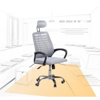 Adjustable 92cm Mesh Lumbar Support For Office Chair Manufactures