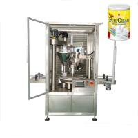 China Stainless steel 2-step Goat milk powder filling machine packing on sale