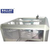 Cheap 40L Acrylic Voting boxes With Safety Lock for Election Campaign Customized  LOGO for sale