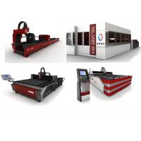 High Performance HE Fiber Laser Cutting Machine For Sheet Metal / Pipe