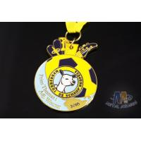 Personalized Enamel Medals Custom Medallions Giraffe Shaped 50mm Size Manufactures