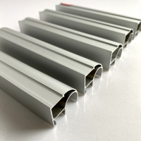 Buy cheap Extrusion Sandblasting 6061 T6 Anodized Aluminum Profiles from wholesalers