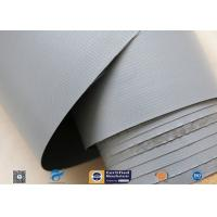 7628 320g Waterproof PVC Coated Fiberglass Fabric For Flexible Air Ductwork Manufactures