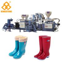 Automatic Plastic Long boot Making Machine , Injection Moulding Machine For Rain Boots Production Manufactures