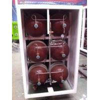Quality 50L - 200L Type 2 Glass Fiber CNG Storage Tanks For Compressed Natural Gas Stations for sale