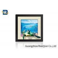 Gift PET Lenticular Cards 5D Pictures PDS / PDF / AI Artwork Format Long Lifespan Manufactures