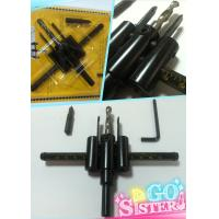 tungsten carbide tipped adjustable circle cutter size 30mm~120mm free doughnut Manufactures