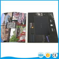 """Cheap Custom Business Brochure With Video Screen , 2.4"""" 4.3"""" 5"""" 7"""" 10'' Lcd Wedding Card for sale"""