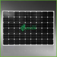 Cheap 250 Watt Monocrystalline Solar Panel for Camping , Deep Blue MCS / CHUBB Certified for sale