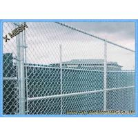 Buy cheap 5 ft Metallic coatings for Hot Dipped Galvanized Chain Link Fence Fabrics for from wholesalers