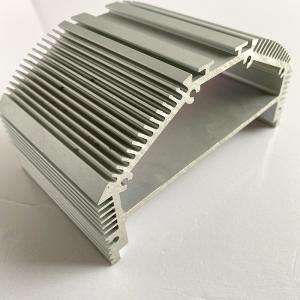 6061 Extrusion Heat Sink Industrial Aluminum Profile Manufactures