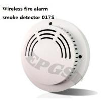 China Wireless fire alarm smoke detector 017S on sale