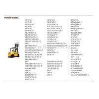China Hyundai Forklift Trucks and Engine Service Manuals and Workshop Manuals on sale