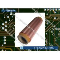 Double Shiny Rolling Red Copper Foil For FPC , Roll Size , Maximum Width 650 Manufactures