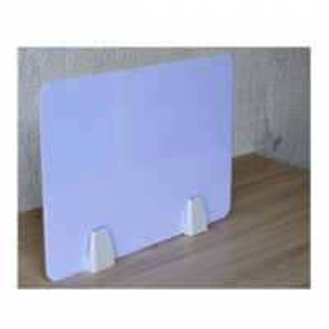 Transparent Plastic 610mm 3mm Desk Privacy Screen Partition Manufactures