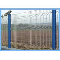 PVC Coated Security Wire Mesh Fence with 3D Curved for Farm and Cattle Manufactures