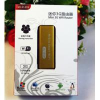 China Pocket 3G/4G Dsl wireless Routers 150Mbps wireless hotspot on sale