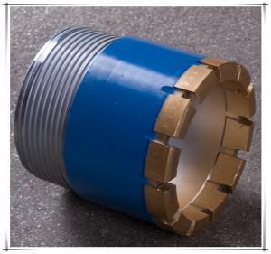 Forging Processing Type BX NX HX Diamond Core Drill Bit 56mm - 122mm Size Manufactures