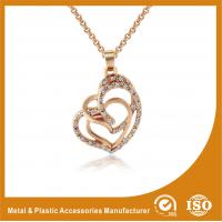 Gold Plated / Silver Plated Metal Chain Necklace Jewellery ECO Friendly Manufactures