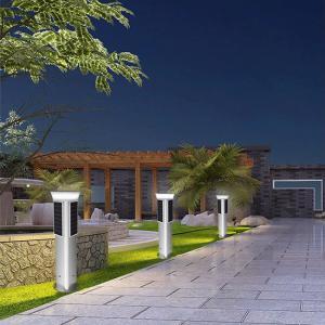 Buy cheap One metre solar light post garden light decoration from wholesalers