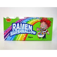 China Delicious Hand-Pulled Noddles Marshmallow Candy Taste Soft And Sweet Colorful on sale