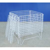 Zinc Coated Industrial Wire Container Light Duty Structure Anti Rust Manufactures