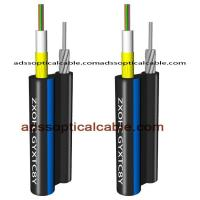 Figure 8 Outdoor Multimode Fiber Optic Cable Central Loose Tube With Yarn Manufactures