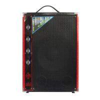 China 2.0 Multimedia Portable Microphone Bluetooth PA Speaker System For Party Karaoke on sale