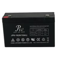 Buy cheap Lead Acid Alarm System Battery 6V 10AH , VRLA Batteries For Fire Alarm Systems from wholesalers
