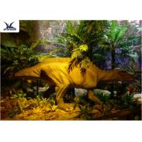 Garden Animal Statues For Dinosaur Statue Park , Velociraptor Lawn Ornament  Manufactures