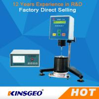 China Small screen LCD, English display High Temperature Automatic Viscosity Testing Equipment on sale