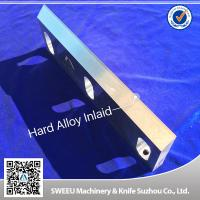 Heat Treatment Plastic Granulator Blades And Knife +-50 Micron Precision Manufactures