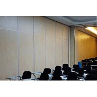 Buy cheap Office Decorative MDF Acoustic Partition Walls / Movable Partition Wall Systems from wholesalers