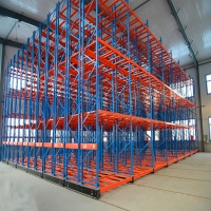 China Powder Coating Warehouse 2000KGS High Density Storage Racks on sale