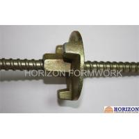 OEM Formwork Tie Rod System For Construction , Dywidag Thread Bar 145KN Load Manufactures