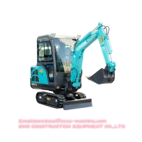 SD17B Certificated Small 1.6 Ton Hydraulic Crawler Excavator Machine Manufactures