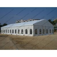 15*30M Waterproof Marquee Tent with Church Windows and Whole Fabric PVC Roof Cover For Outdoor Party on Beach