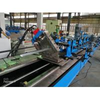 60m/min CU  C Z Purlin Roll Forming Machine for Gear Box driving fly cutting Manufactures