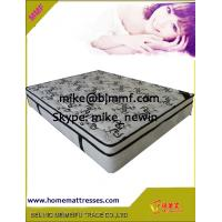 Luxury comfort night Knitted Fabric pillowtop Eurotop pocket spring mattress Manufactures
