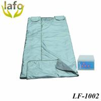 China 3 zones far infrared sauna thermal blanket slimming body wrap blanket on sale