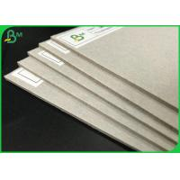 2.0mm 2.2mm 70 * 100cm High Stiffness Grey Chipboard For Packages Boxes Manufactures