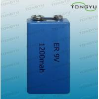 ER 10.8V 1200mAh Lithium Thionyl Chloride Battery for Camera , Computer RAM Manufactures
