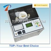 Three Cups 80KV Automatic Transformer Oil Tester Measurement used for insulation oil dielectric strength test Manufactures