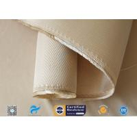 12HS Silica Fabric Welding Blanket Splash Protection High Silica Cloth Brown Manufactures