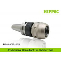 BT40 CNC Machine Tools Power Type Tool Holder Precision 0.003mm For Heavy Duty Manufactures